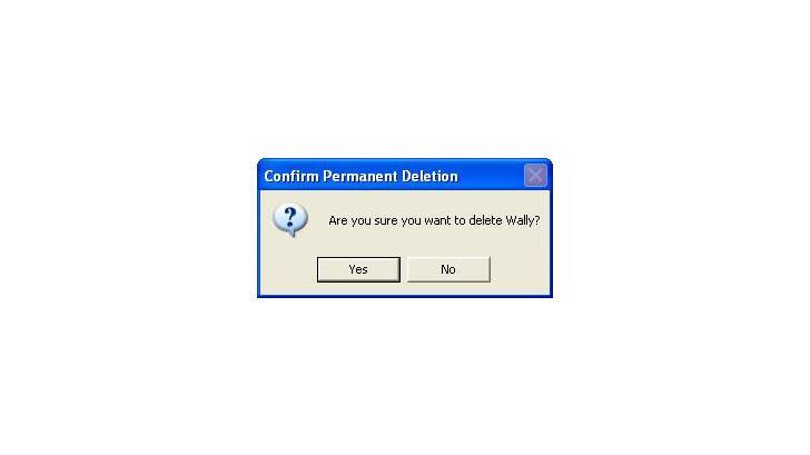 ลบ ไฟล์ โดยไม่ต้องแสดง Confirm Delete