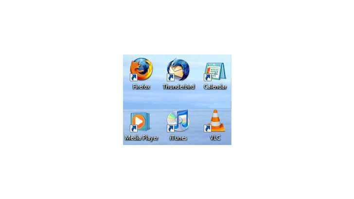 ลบลูกศรที่ Icon Desktop?