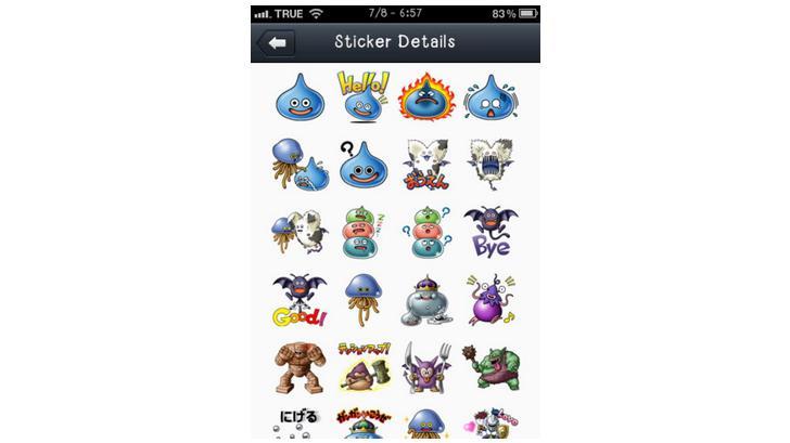 [iOS]วิธีดาวน์โหลดสติกเกอร์ Dragon Quest Monster จาก LINE ของประเทศญี่ปุ่นฟรีๆ
