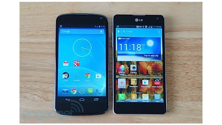 วิธีเปลี่ยน LG Optimus G เป็น Nexus 4