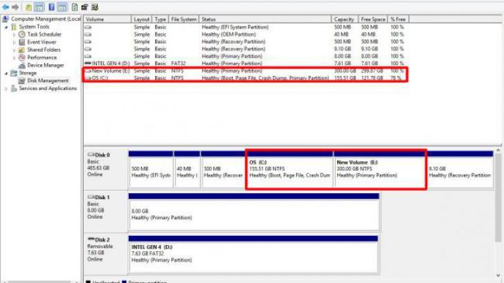 วิธี แบ่งพาติชั่น แบ่งไดร์ฟ รวมไดร์ฟ บนวินโดว์ 8/ 7/ XP โดยไม่ต้องใช้โปรแกรม