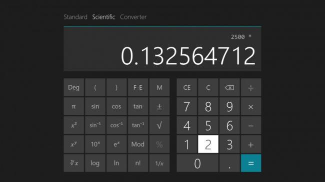 Quick calculations
