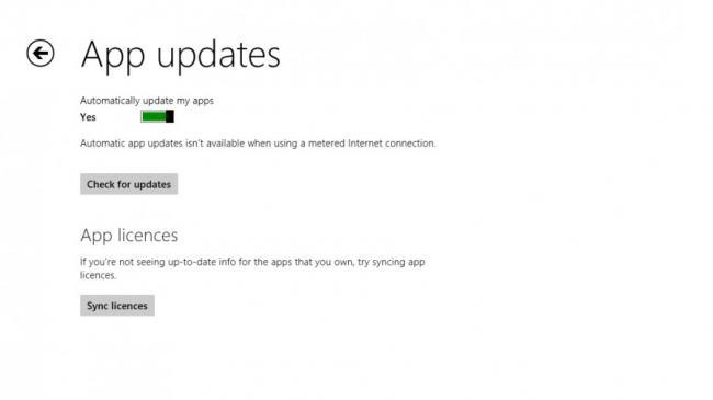 App updates