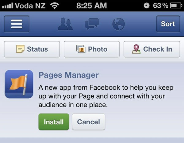 Page Manager App