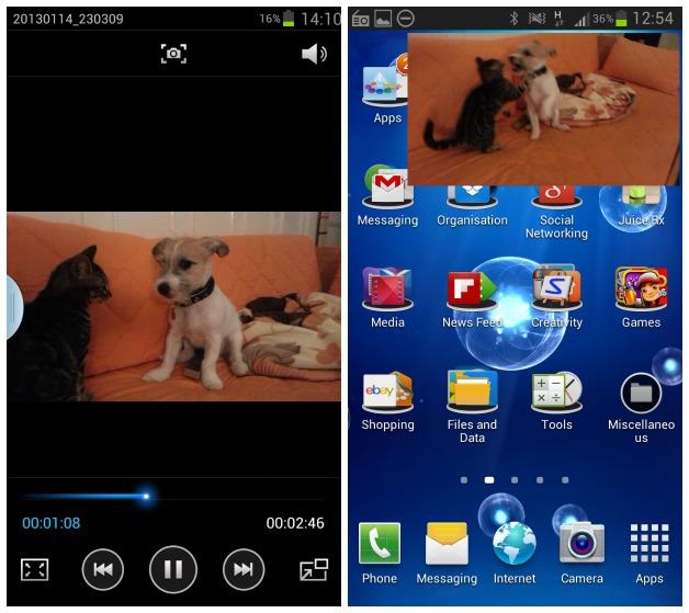 Video Overlay การดูวีดีโอแบบ Multitasking