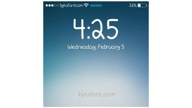 มาเปลี่ยนฟอนท์ใน iOS 7 กันเถอะ