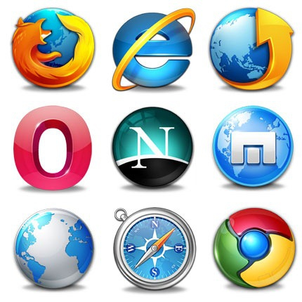 Web Browser Icons