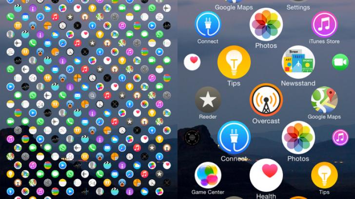 วิธีเปลี่ยนหน้าจอ iPhone ให้แสดงผลเหมือน Apple Watch