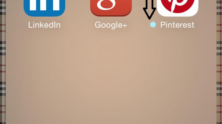 สงสัยไหม จุดสีฟ้าหน้าชื่อแอปฯบน iOS คืออะไร