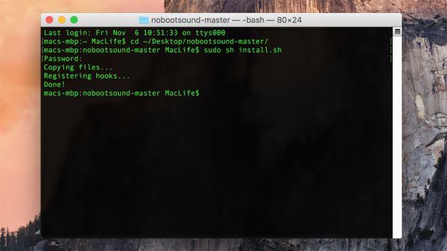 ปิด เปิดเสียง startup บนเครื่อง Mac