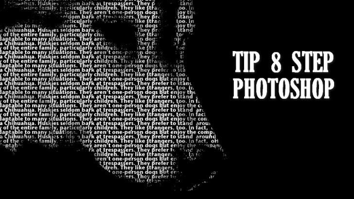 8 สเต็ป การแต่งภาพอาร์ตด้วยตัวหนังสือ ผ่านโปรแกรม Photoshop