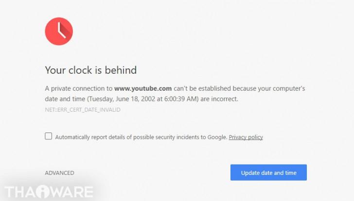 แก้ปัญหา คอมฯ มีเน็ตแต่ใช้งาน Chrome, Google Apps หรือ Youtube ไม่ได้