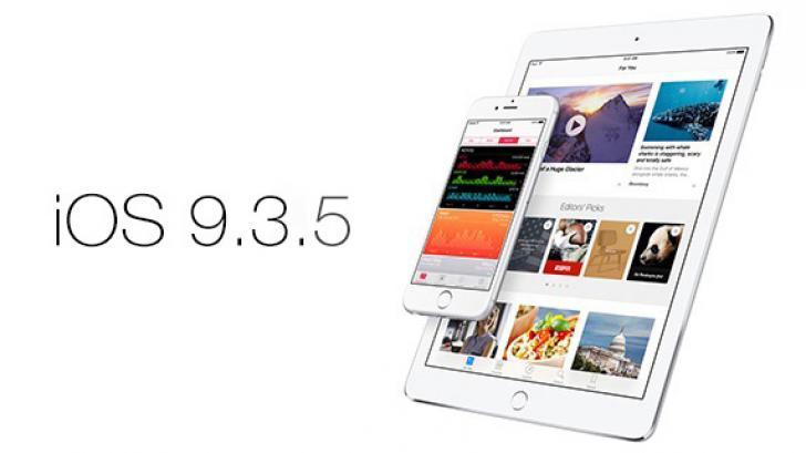 วิธีอัพเดท iOS 9.3.5 พร้อมลิงค์ดาวน์โหลด Firmware โดยตรง และรายละเอียดของเวอร์ชั่นใหม่