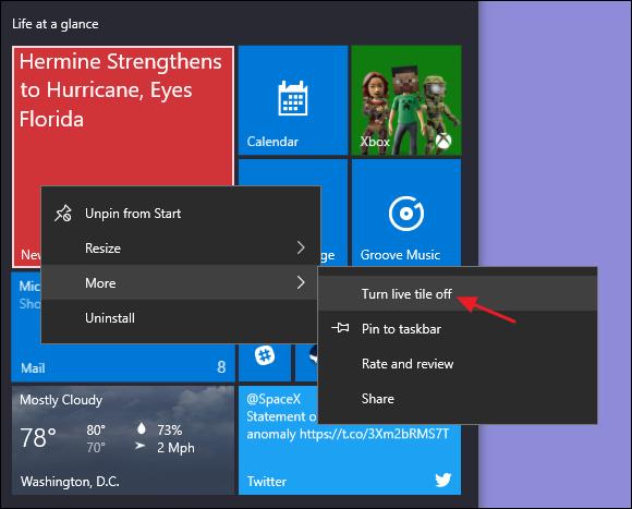 10 เทคนิคปรับแต่ง Start menu ของ Windows 10 ให้สวยงามตามต้องการ