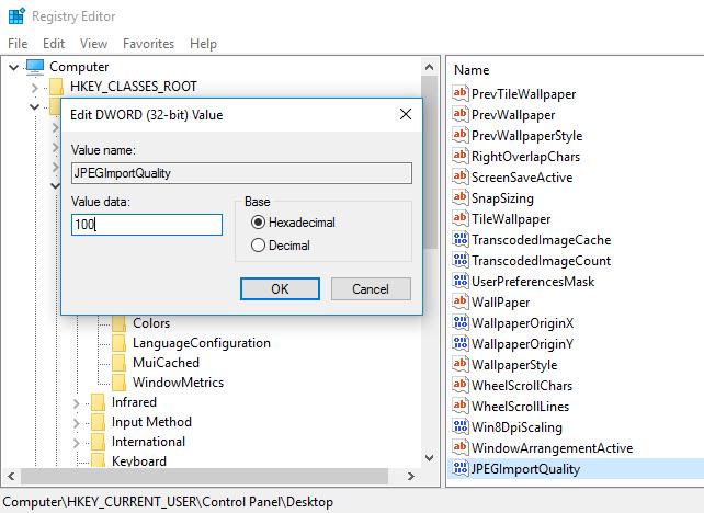 วิธีทำให้ภาพพื้นหลังบน Windows 10 มีความคมชัดสวยงามมากขึ้น