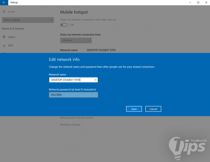 วิธีแชร์ Wi-Fi Hotspot บน PC โดยไม่ลงโปรแกรมเสริม (Windows 10)