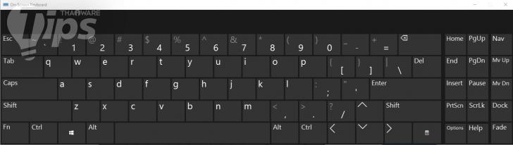 วิธีเปิดใช้งาน On-screen Keyboard บน Windows 10