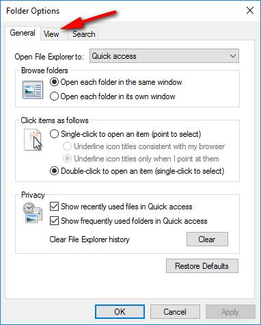 วิธีปิดการทำงานของ Thumbnails ไม่ให้แสดงตัวอย่างไฟล์บน Windows