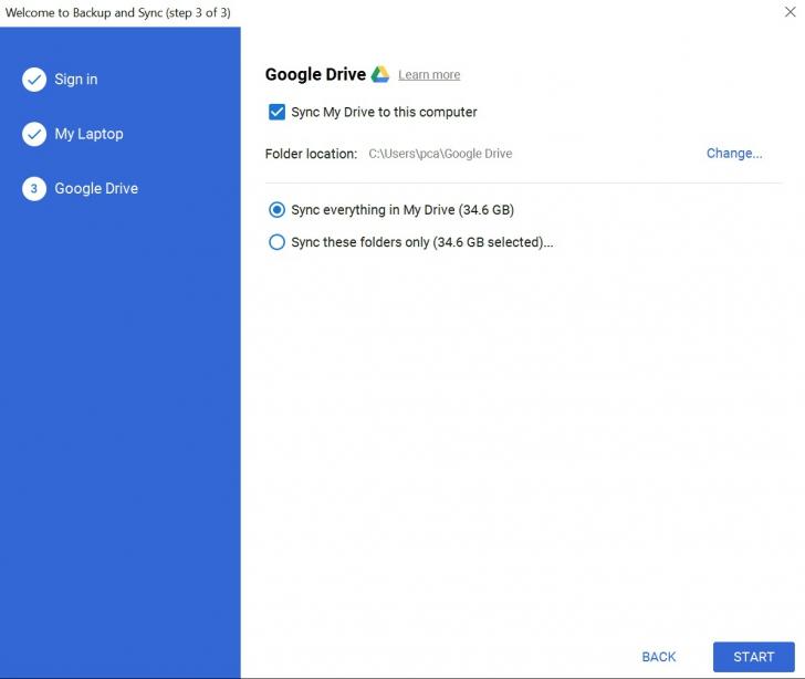 วิธีเซฟไฟล์งานจากที่ทำงาน กลับมาทำงานต่อที่บ้าน ผ่าน Google Backup and sync