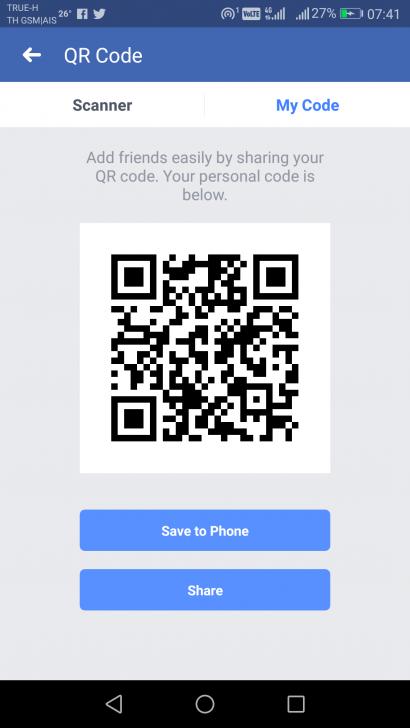 ยุคนี้ต้อง QR Code เจอหน้ากัน วิธีแอดเพื่อนบน Facebook ด้วย QR Code