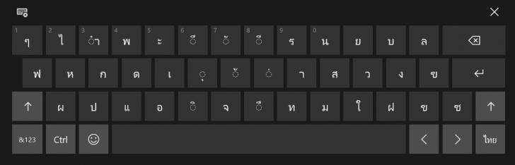 เทคนิคการใช้งาน ฟีเจอร์ Touch Keyboard คีย์บอร์ดเสมือนจริงบน Windows 10