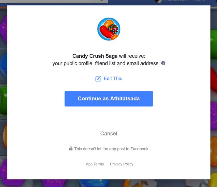 วิธีลบแอพฯ ใน Facebook