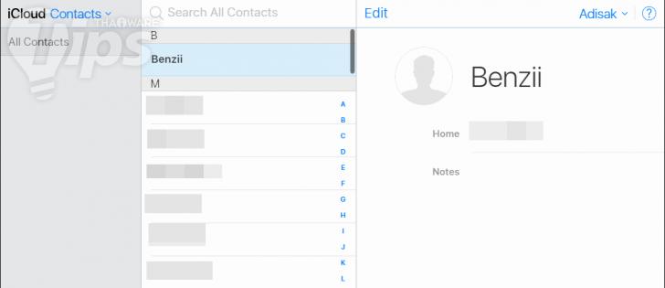 รวมวิธี Backup ข้อมูล รายชื่อ เบอร์โทรศัพท์ Contact บน iPhone