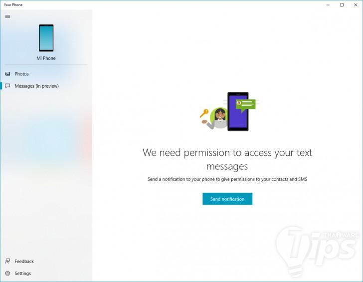 วิธีโอนรูปจากแอนดรอยด์มา PC ด้วยแอพฯ Your Phone บน Windows 10