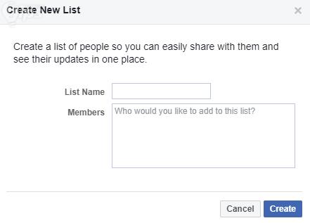 วิธีซ่อนรายชื่อเพื่อนบน Facebook
