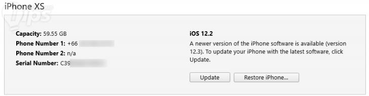วิธีอัพเดท iOS 12.3 พร้อมลิงก์ดาวน์โหลด Firmware โดยตรง