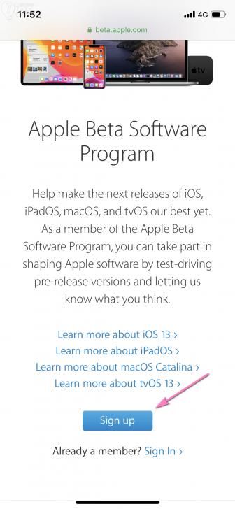 วิธีติดตั้ง iOS 13, iPadOS 13 Public Beta เพื่อลองฟีเจอร์ใหม่ก่อนใคร
