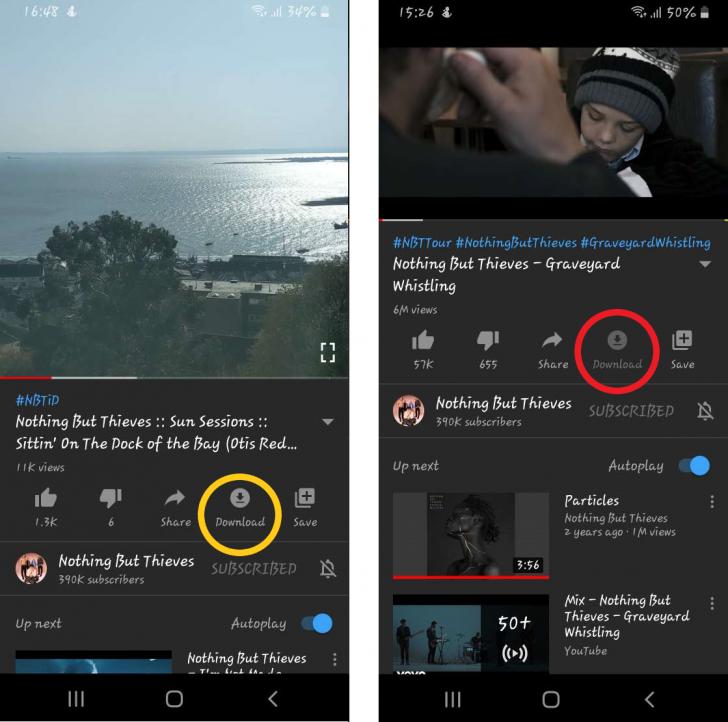 วิธีดาวน์โหลดคลิปจาก YouTube ลงสมาร์ทโฟน และ PC ไว้ดูแบบออฟไลน์ ไม่ต้องต่อเน็ต