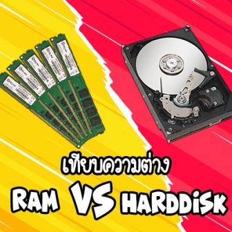 RAM คืออะไร ? Harddisk คืออะไร ? SSD คืออะไร ? และแตกต่างกันอย่างไร ?
